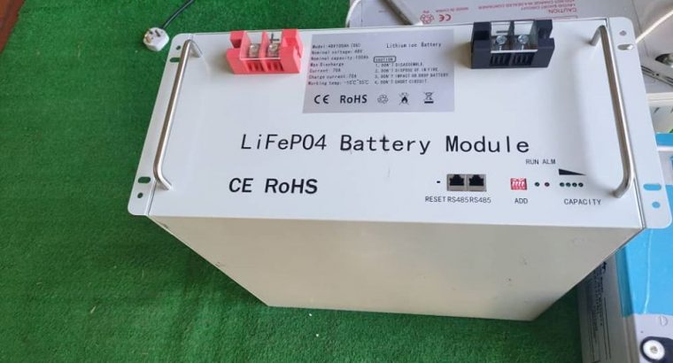 100ah 48v lithium ion phosphate battery – LiFePo4