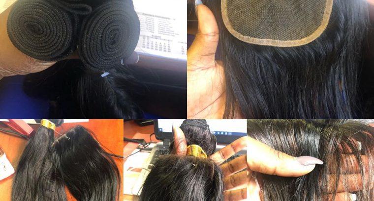 Brazillian hair 10A full set