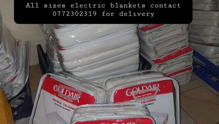 Electric blankets for sale