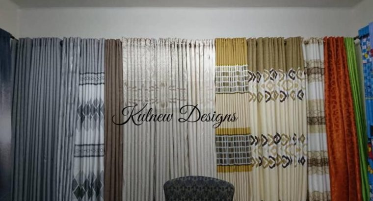 Curtains and curtain rods