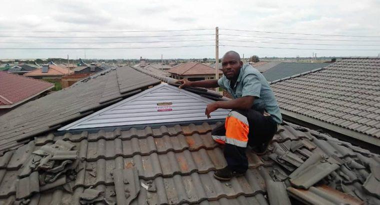 PVC Gutters/Roof Louvers