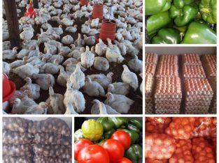 Farm Produce On Sale