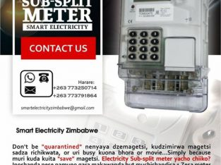 Smart Electricity split Meters