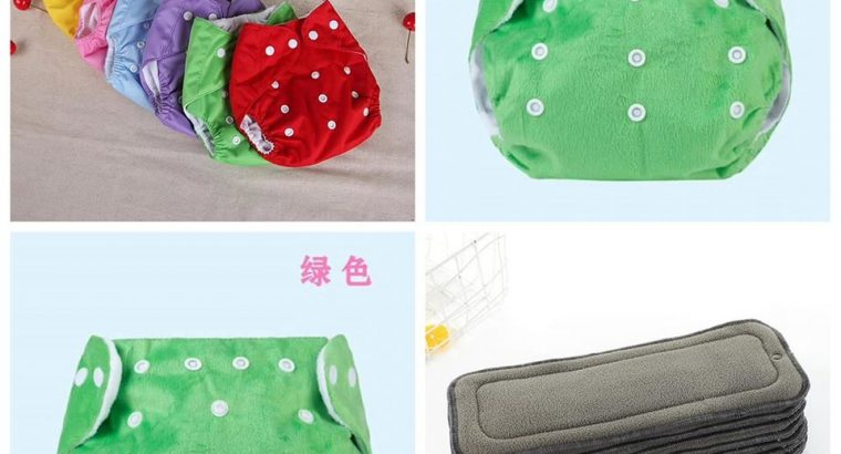 Reusable diapers