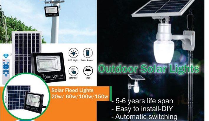 100w Solar Flood Lights
