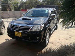Toyota Hilux d4d 2013