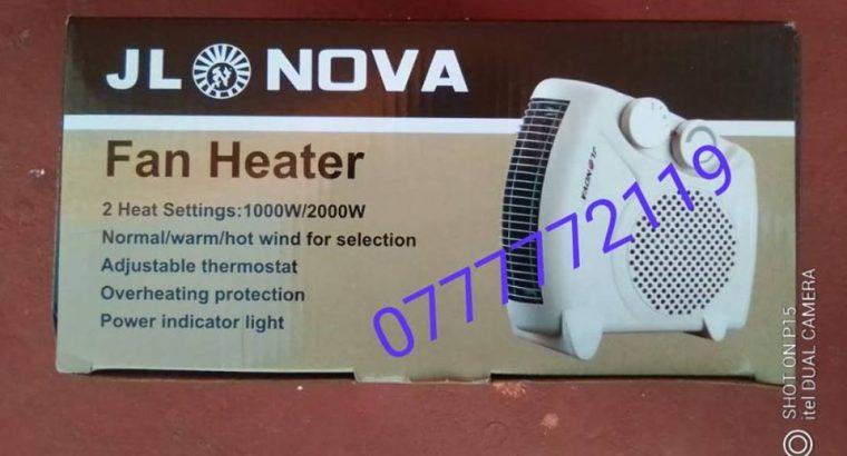 Fan Heater 25usd