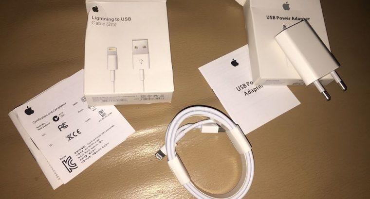 Original fullset iphone charger