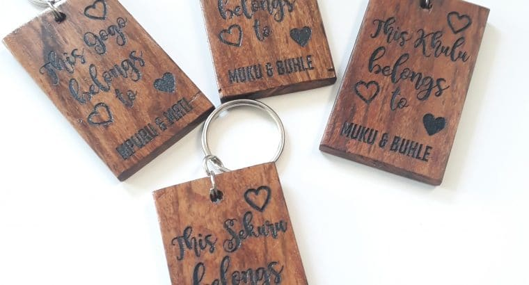 Wood Engraved Gifts