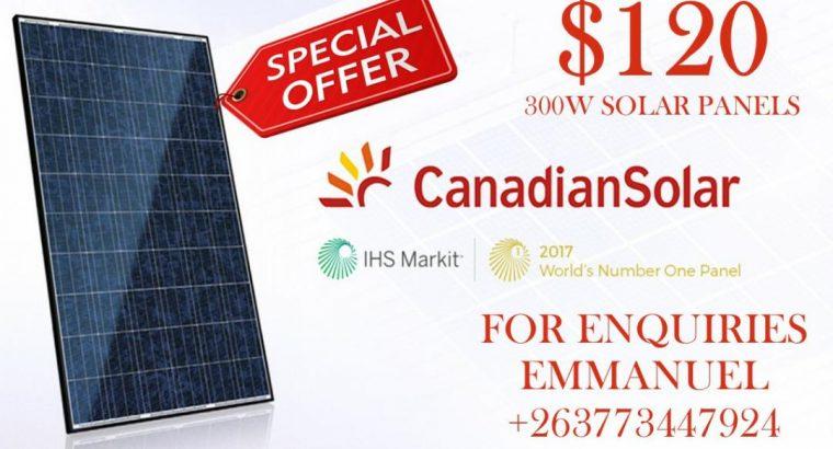 30W Solar Panels