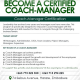 Certified Coach Manager