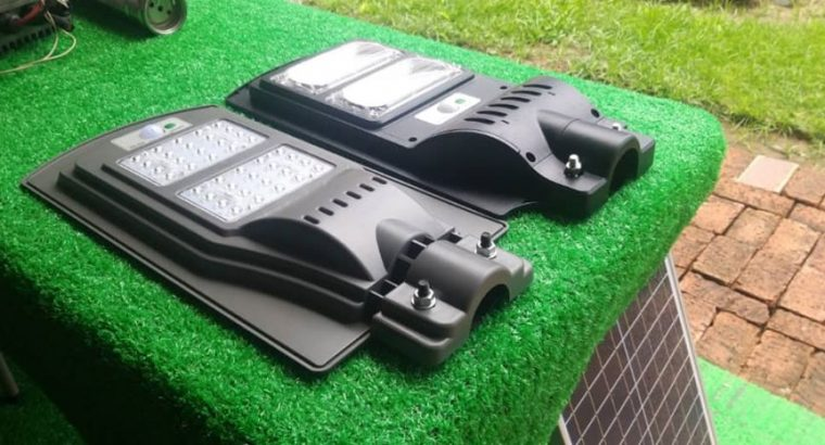 Smart Solar Flood Lights
