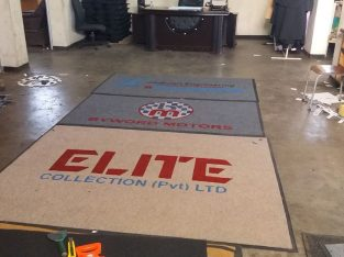 Rubber Back Branded Mats