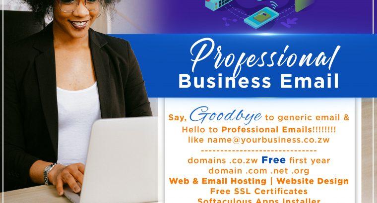 Websites, Website Hosting, Domain registration