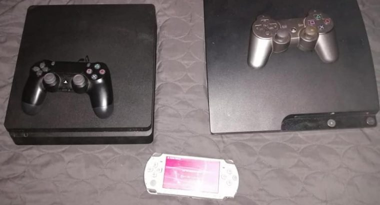 Playstation 3 & 4 for sale