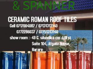 Ceramic Roman Roof tiles