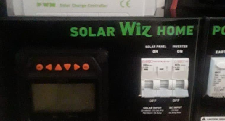 Solar Home Power Station