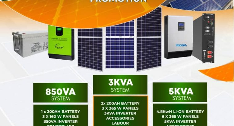 Quality Solar Packages and Systems