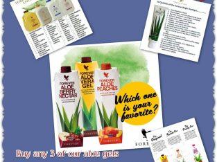 Aloe gels