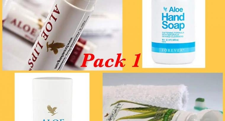 Aloe daily packs