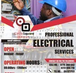 Electrical service repairs